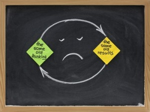 thinking and results mindset - disappointment